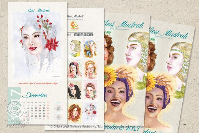 Calendario Illustrato 2017