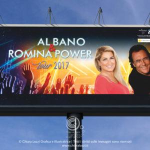 Poster 6x3 Al Bano & Romina Power