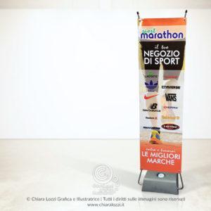 Expo-Banner Marathon Sport