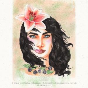 Mesi Illustrati - Agosto - Ecoline
