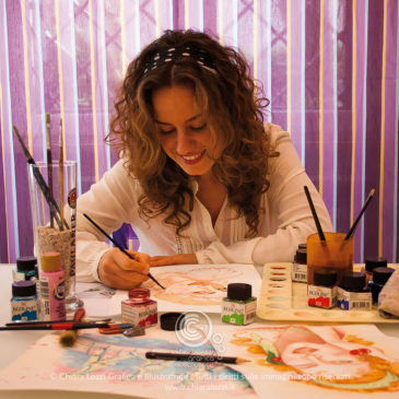 Mi chiamo Chiara e mi occupo di Grafica e Illustrazione!