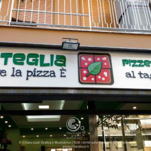 Grafica pizzeria Roma Integlia