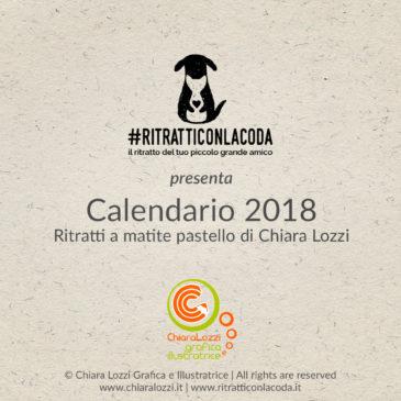 CALENDARIO 2018 #RitrattiConLaCoda