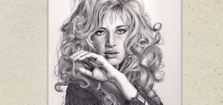 Ritratto di Monica Vitti